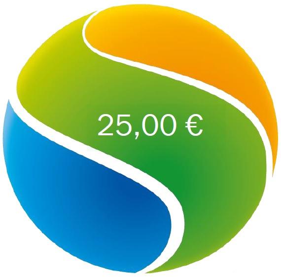 Gutschein in Wert von 25 €